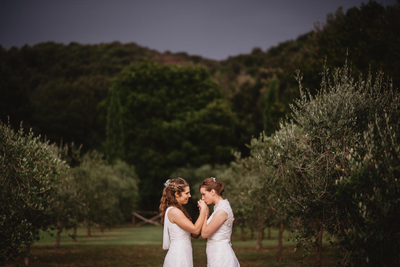 Same Sex Wedding in Toscana
